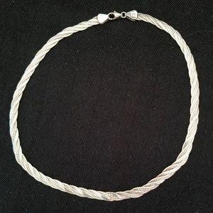 Vintage Sterling 3 Herringbone Chain